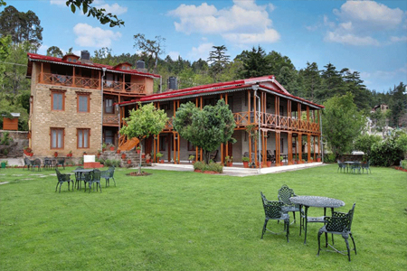 Hotel Chevron Mountain Villa in Kausani