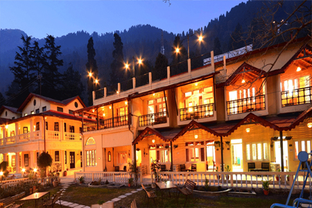 The Pavilion Hotel in Nainital